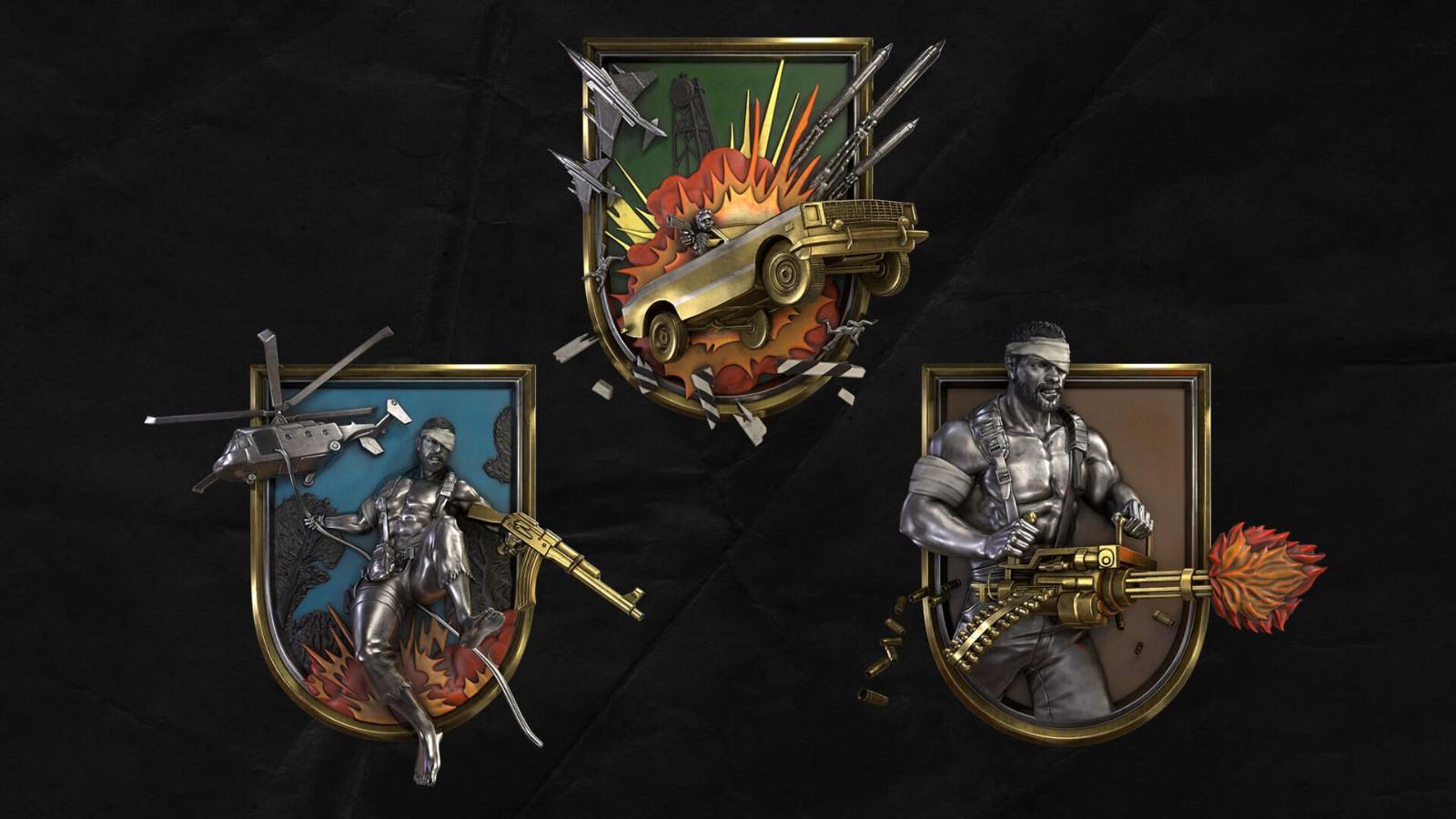 """《使命召唤:战区》""""80年代动作英雄""""更新今天正式上线"""