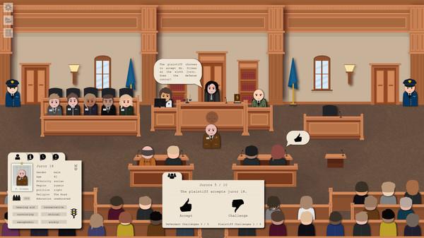 伸张正义!律师模拟RPG《Jury Trial》2021年内登陆Steam