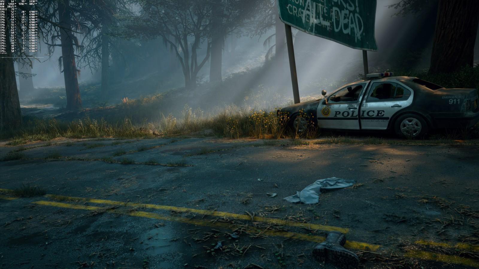《往日不再》PC性能分析:游戏表现稳定 画面不错