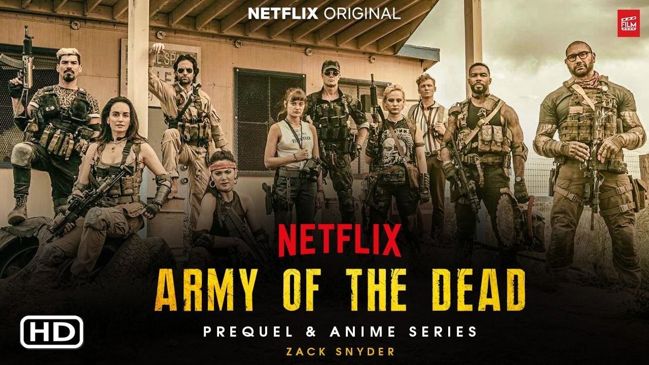 《活死人军团》上线在即 Netflix公布联动《全裸监督2》诡异海报