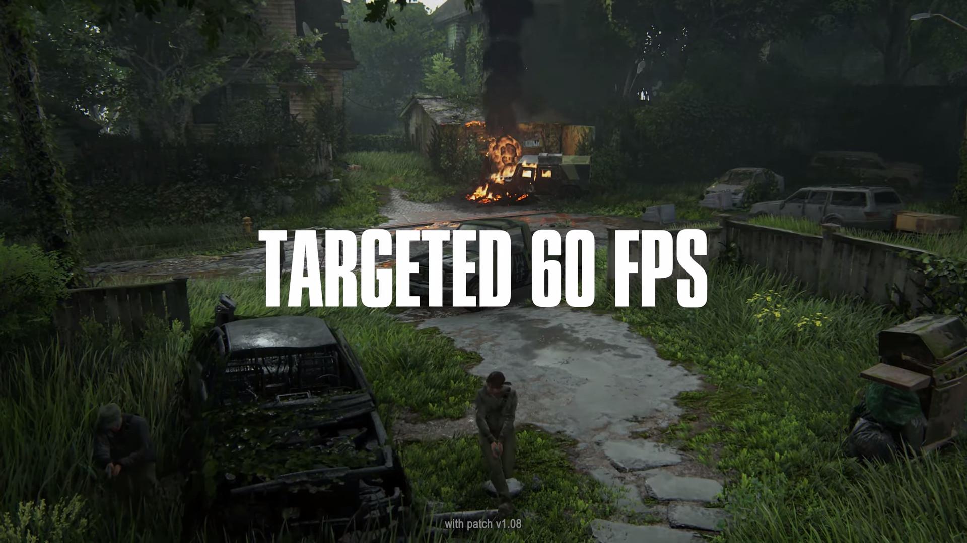 《最后的生还者2》已在PS5平台上获得60FPS支持