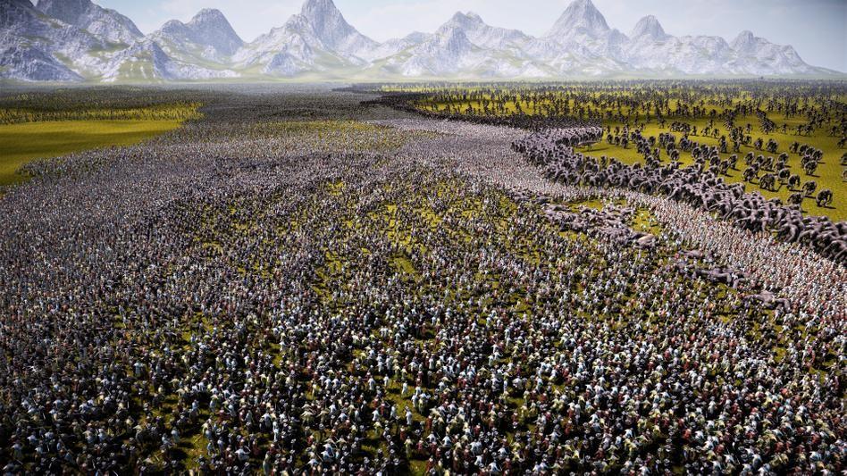 《史诗战争模拟器2》新演示 罗马军团大战斯巴达战士