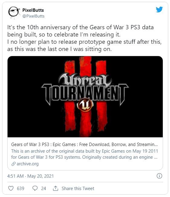 《战争机器3》确有PS3版 相关文件公布