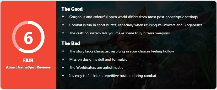 《生化变种》IGN评6分 设计出色但任务解谜俗套