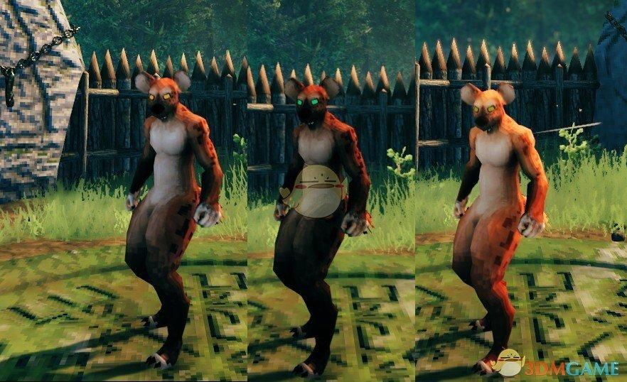《Valheim:英灵神殿》豺狼玩偶装MOD