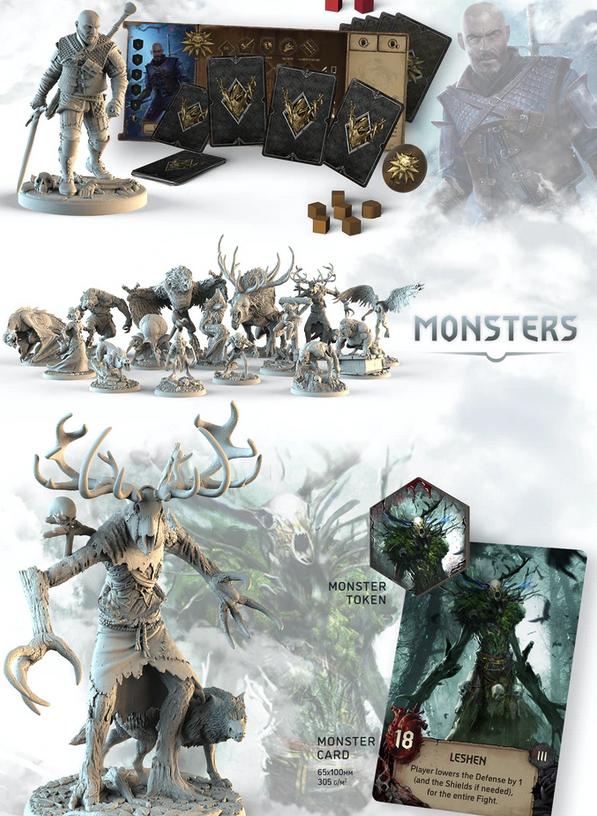实体桌游《巫师:旧世界》众筹宣传片公开 2022年正式上市