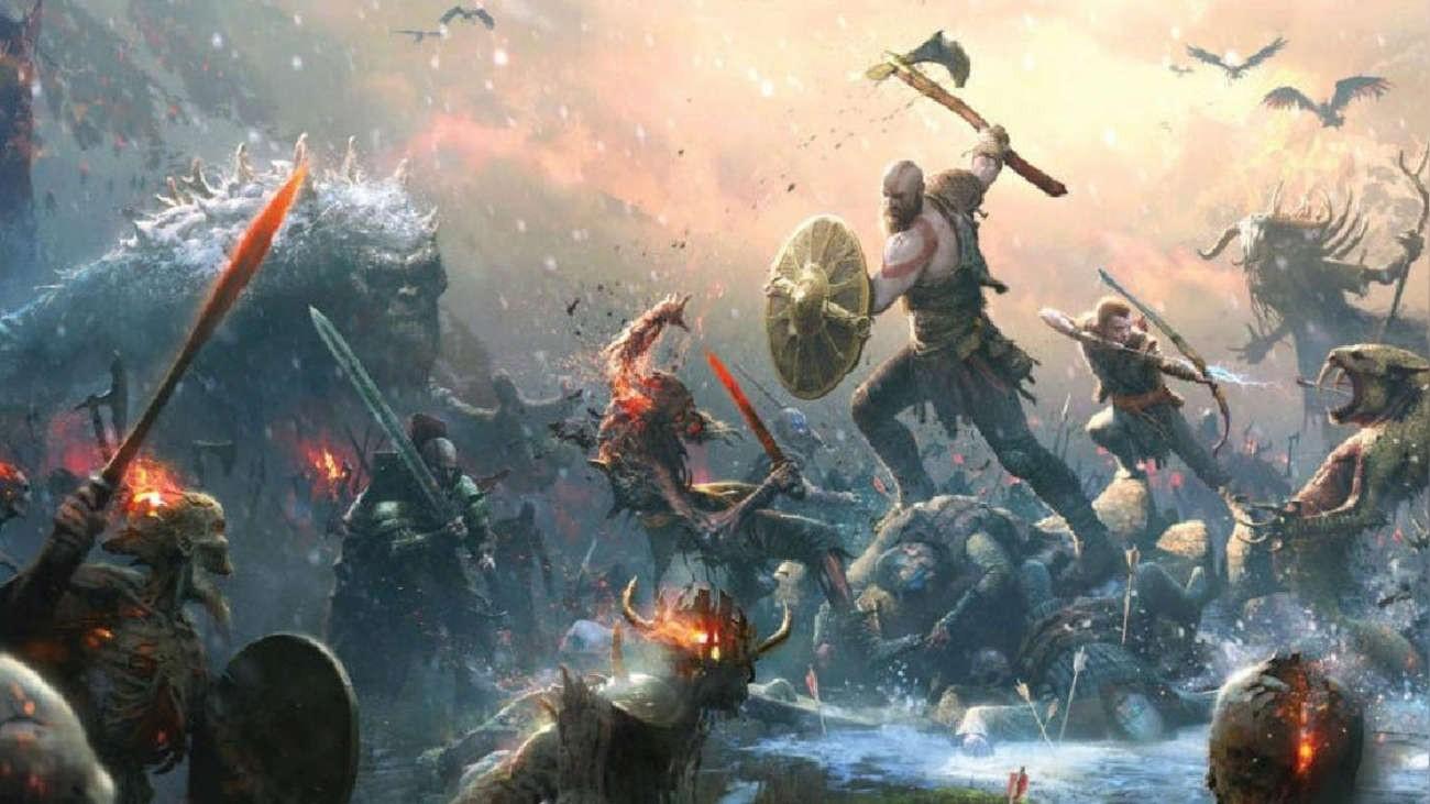 《战神5》正式名《战神:诸神黄昏》 奎爷战北欧诸神