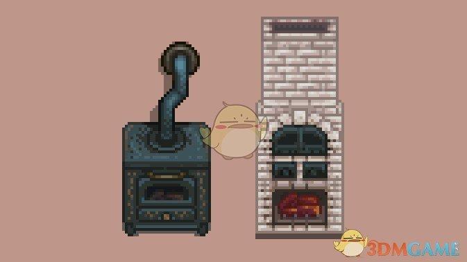 《星露谷物语》火炉壁炉外观美化MOD