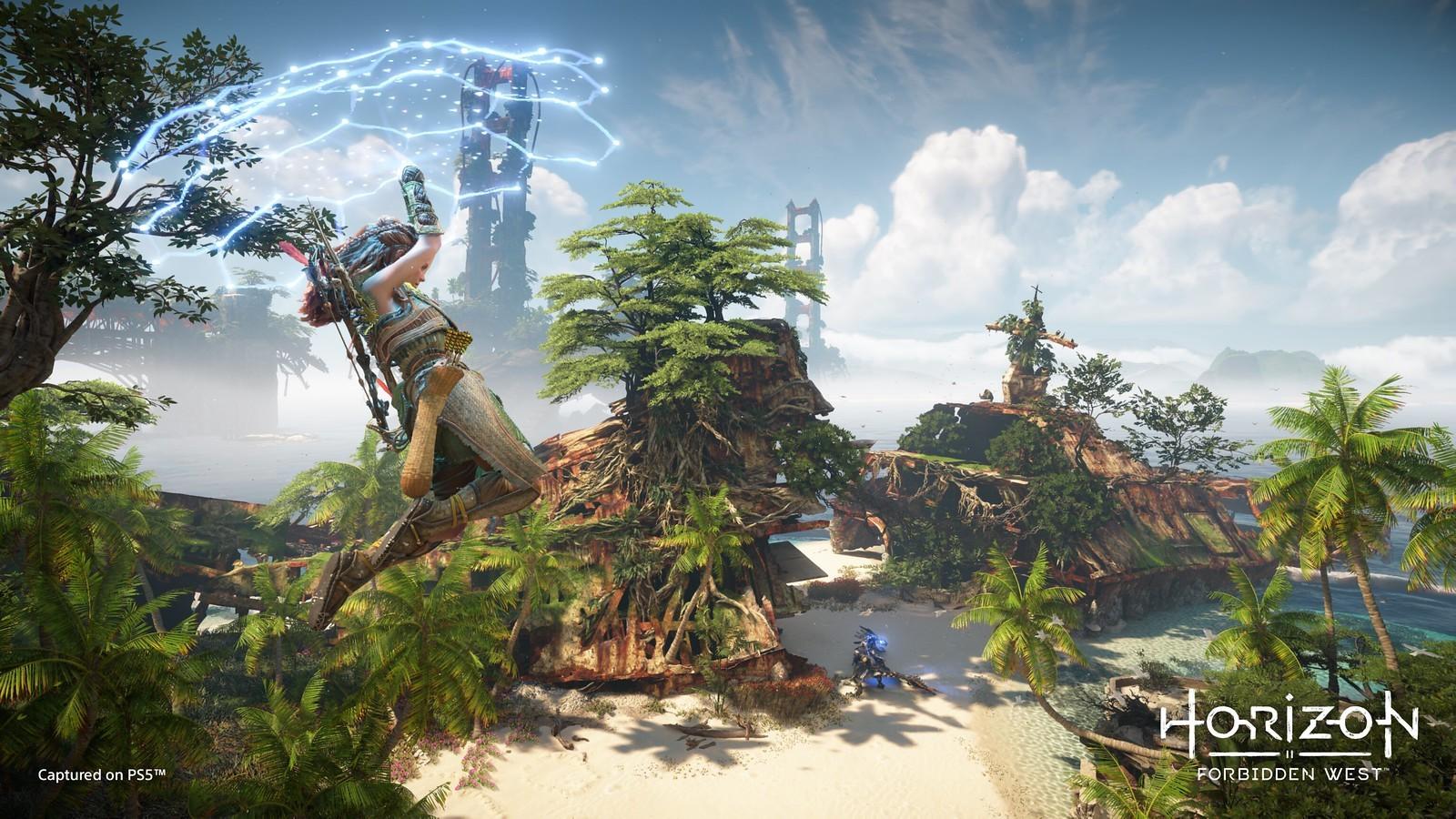 《地平线:西部禁域》新截图 前所未见的新机器新玩法