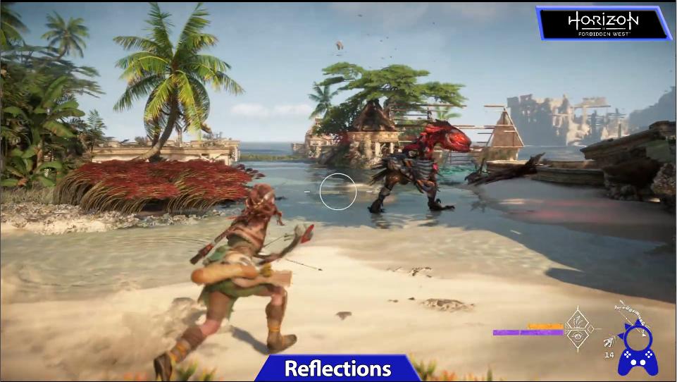 《地平线:西部禁域》前作对比视频 新作细节大提升