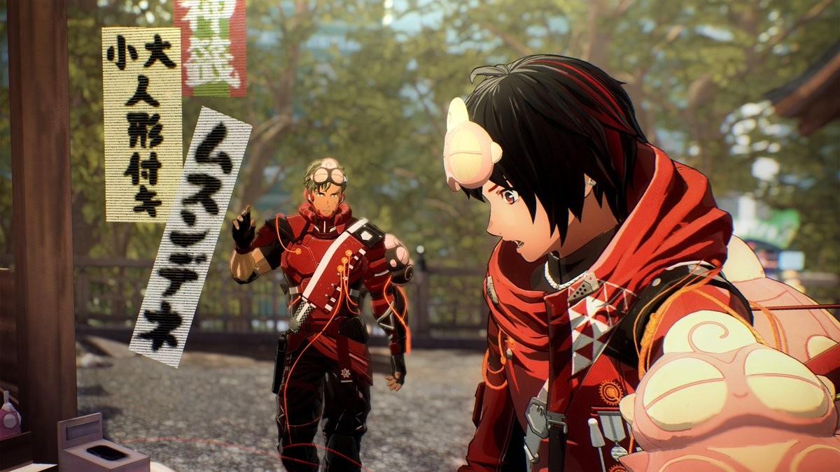 《绯红结系》监督分享多张新图 展示游戏角色与吉祥物