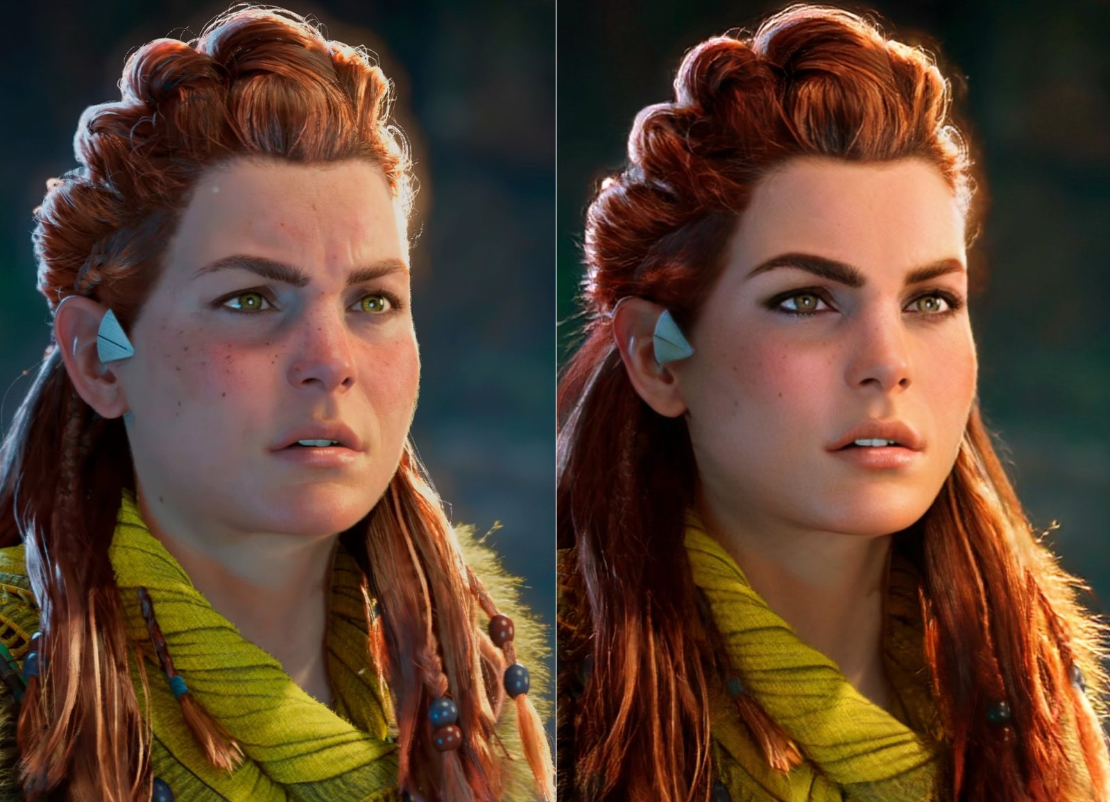 玩家不满《地平线:西部禁域》女主变胖开始恶搞