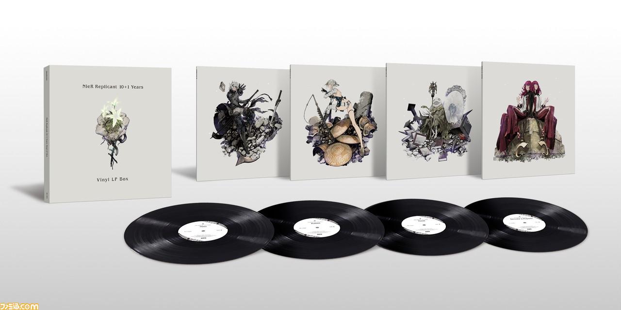 《尼尔:伪装者》黑胶唱片已开启预订 著名插画师三轮士郎设计封面