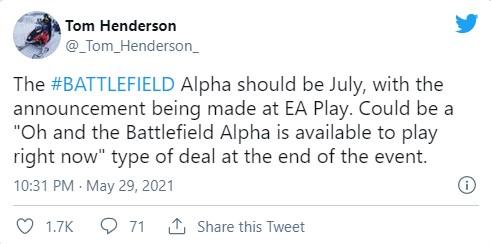 预计在今年假期发售 业内人士:《战地6》A测可能于7月进行