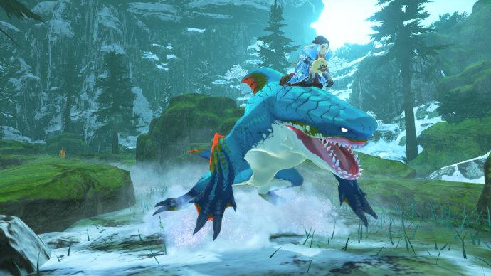 《怪物猎人物语2:扑灭之翼》田野先容:纯白的银之天下等