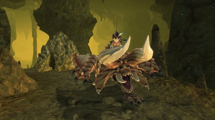 《怪物猎人物语2:毁灭之翼》原野介绍:纯白的银之世界等