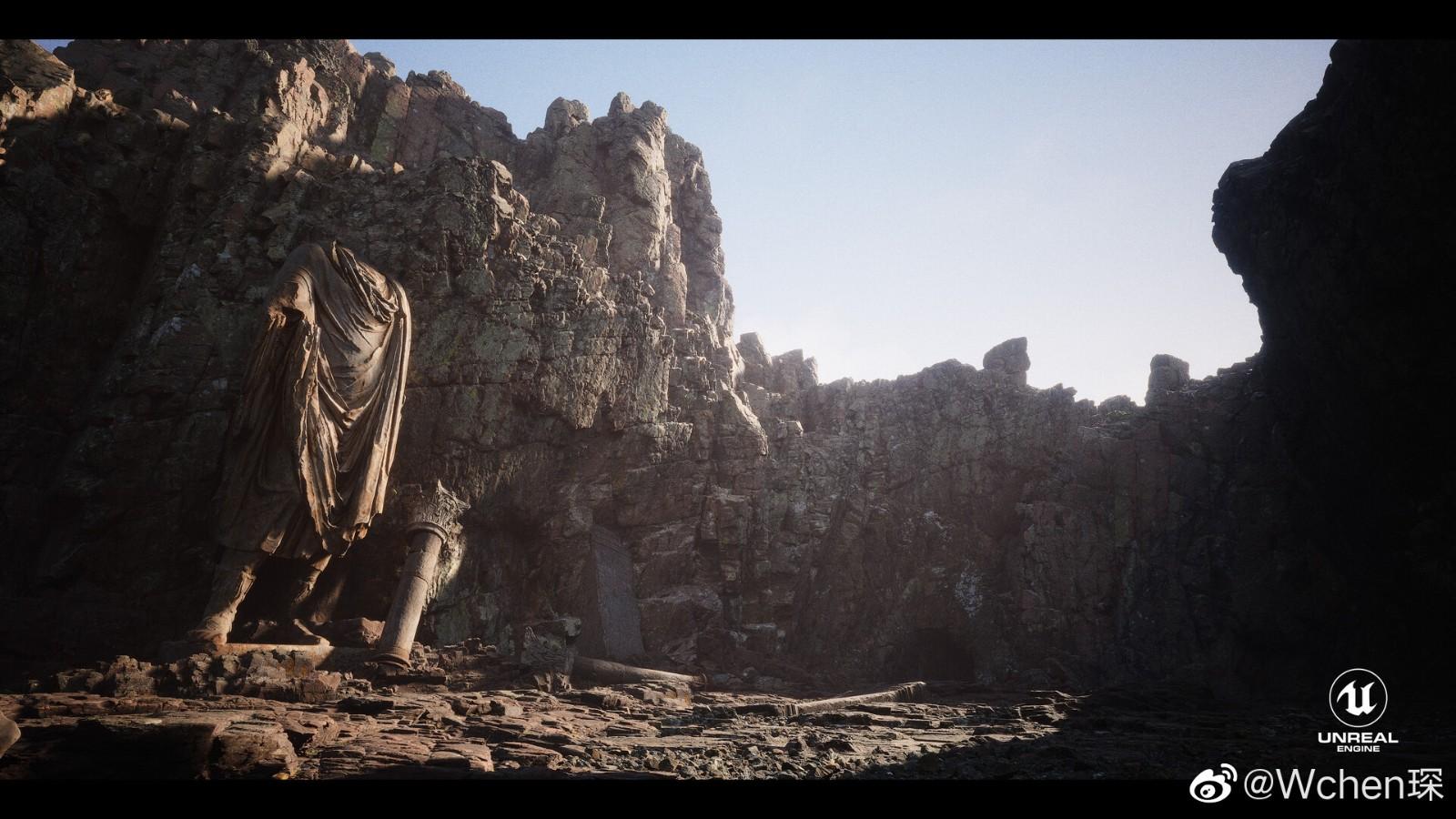 《黑神话:悟空》模型师用虚幻5引擎打造场景 美轮美奂