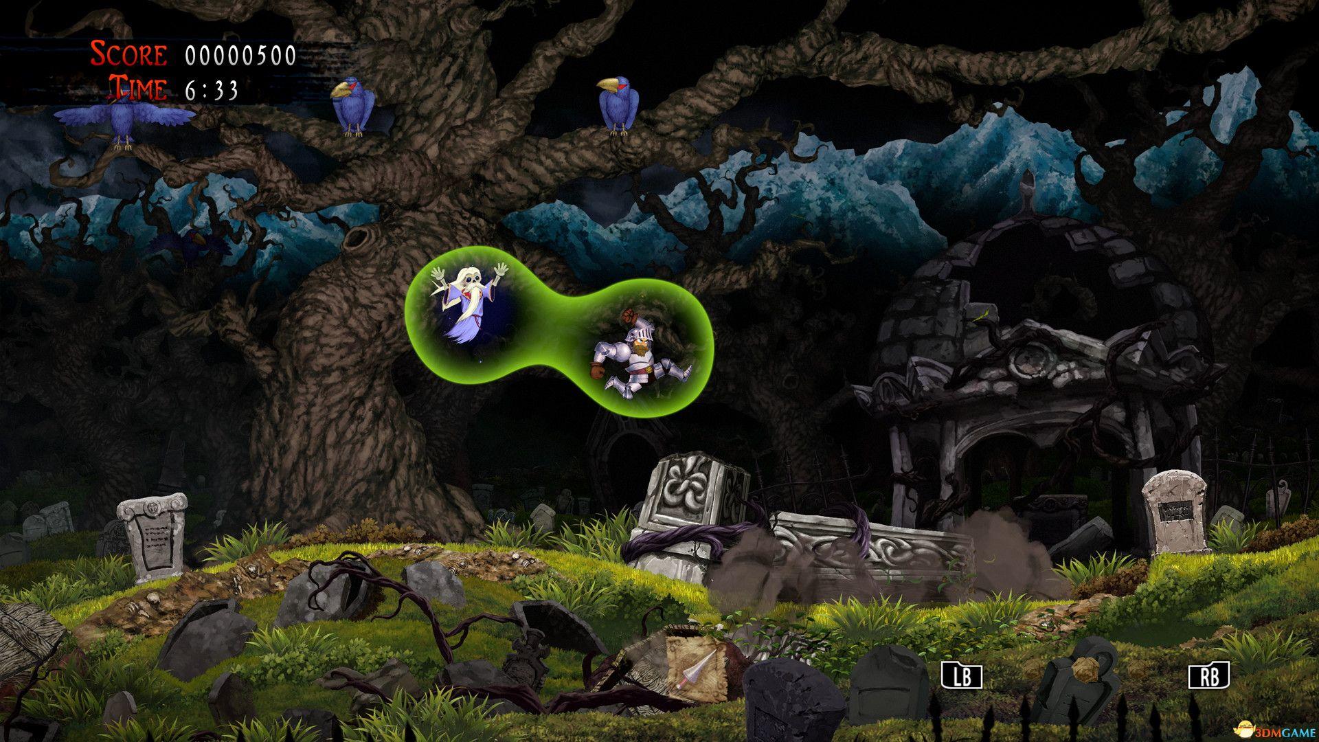 《经典回归魔界村》全关卡流程攻略 最高难度无伤视频攻略