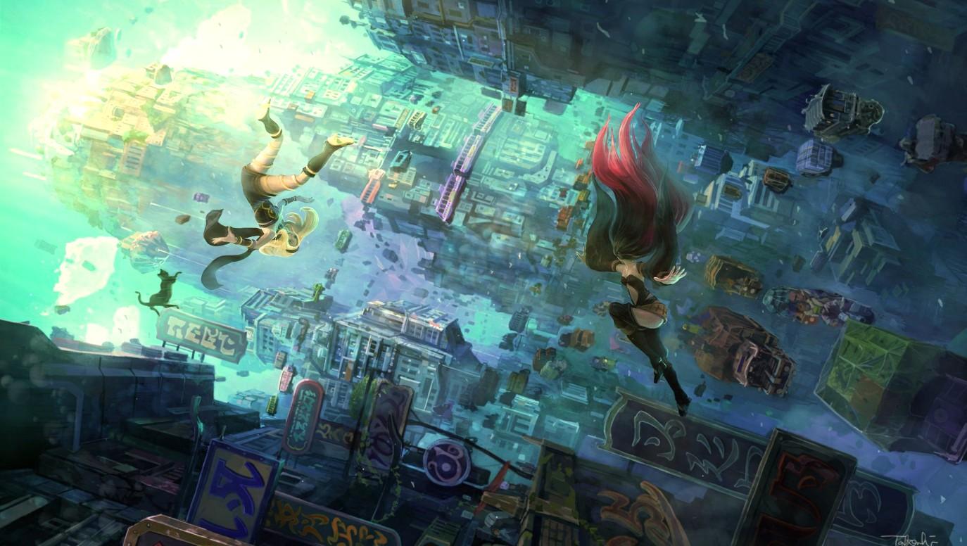 《Wallpaper Engine》重力异想世界2绘图动态壁纸
