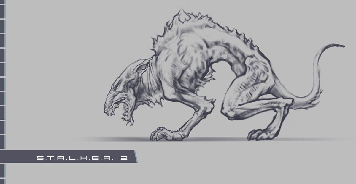 《潜行者2》设计文件概念图早期废弃版本在网上泄露