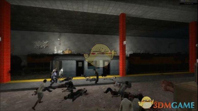 《求生之路2》午夜铁路地图MOD