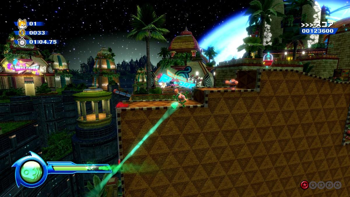 《索尼克:色彩终极版》新系统情报 塔尔斯救援索尼克