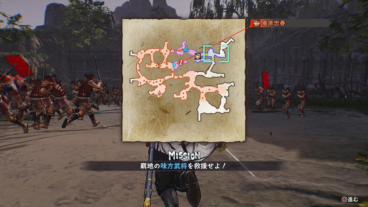 《战国无双5》新图:正式展示场所功能和坚城演武玩法