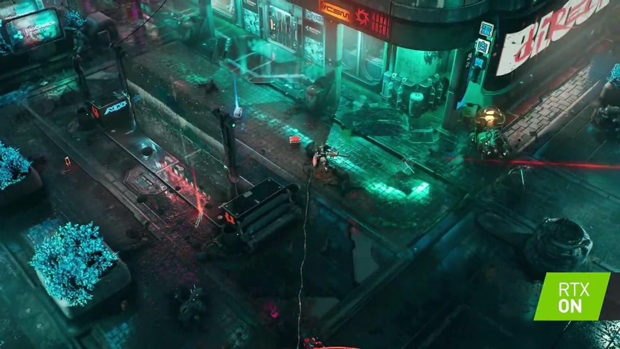 赛博朋克ARPG《上行战场》将支持光追及DLSS