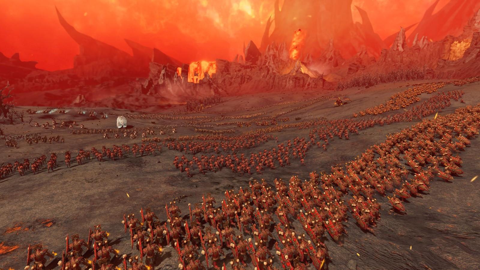 《全面战争:战锤3》新预告 血神势力强大无比