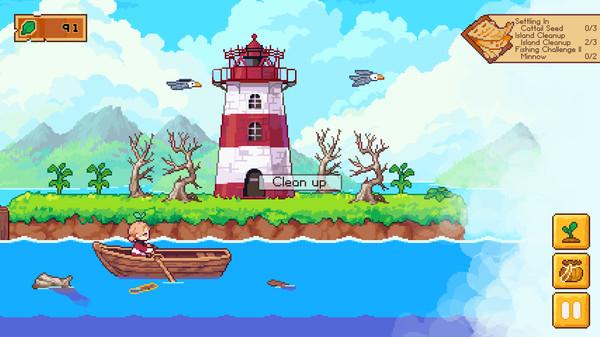 休闲建造游戏《路纳的钓鱼花园》6月16日上市 支持中文