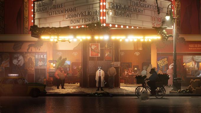侦探游戏新作《浣熊硬探》6月8日发售 实机演示公布
