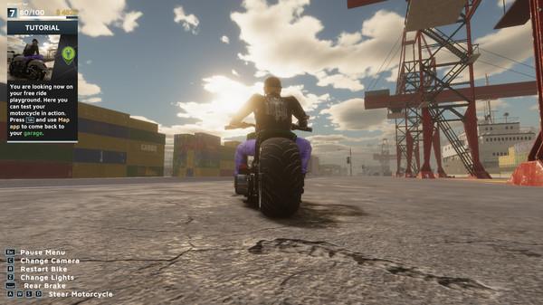 《摩托车技工模拟器2021》免费序章上架Steam 支持中文