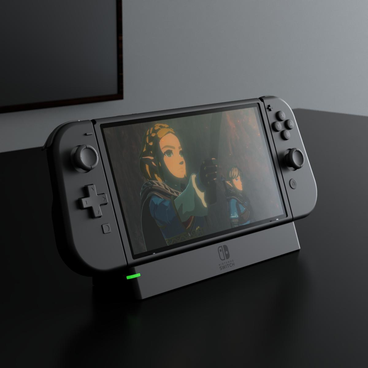 新型Switch谍照曝光 外观更加典雅成熟气质提升