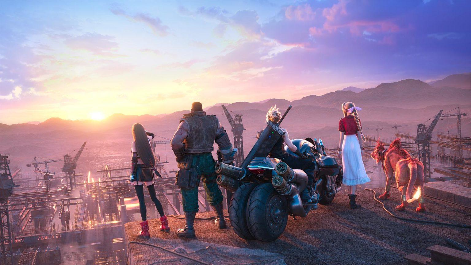 《最终幻想7:重制过渡版》可免费获得原版预购物品
