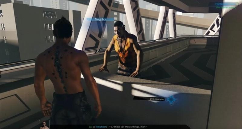 《赛博朋克2077》早期版为第三人称 A测演示泄露