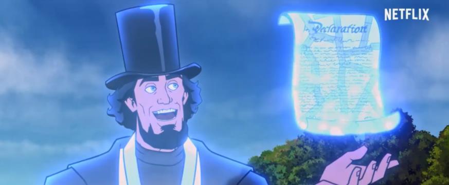 动画喜剧电影《美国:一部电影》发布中字预告 美国国父披挂上阵