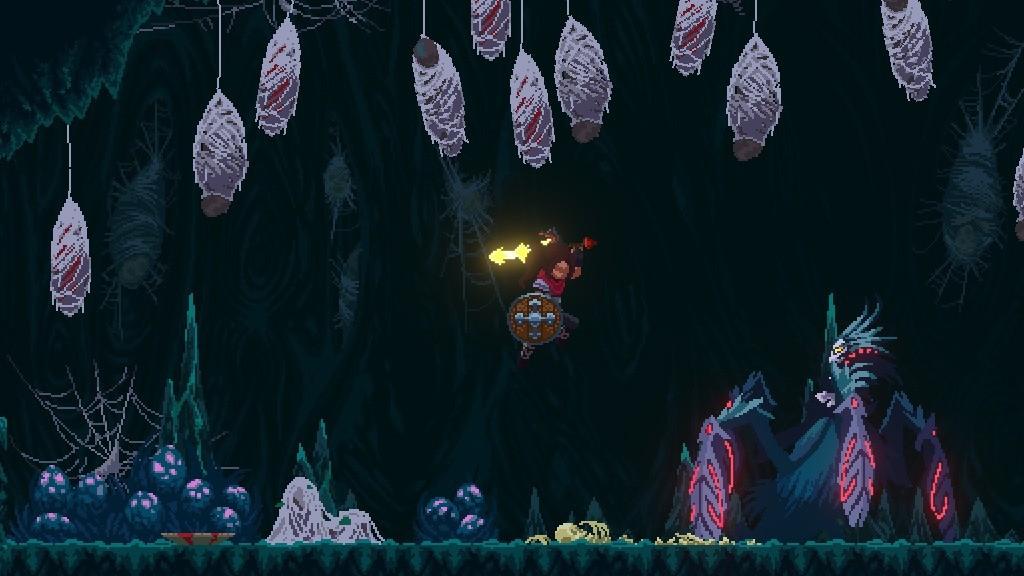 银河恶魔城风格游戏《Elderand》面向主机/PC公布