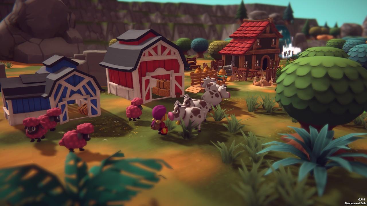 3D卡通画风 生活模拟RPG新游《Spirit of the Island》上架Steam