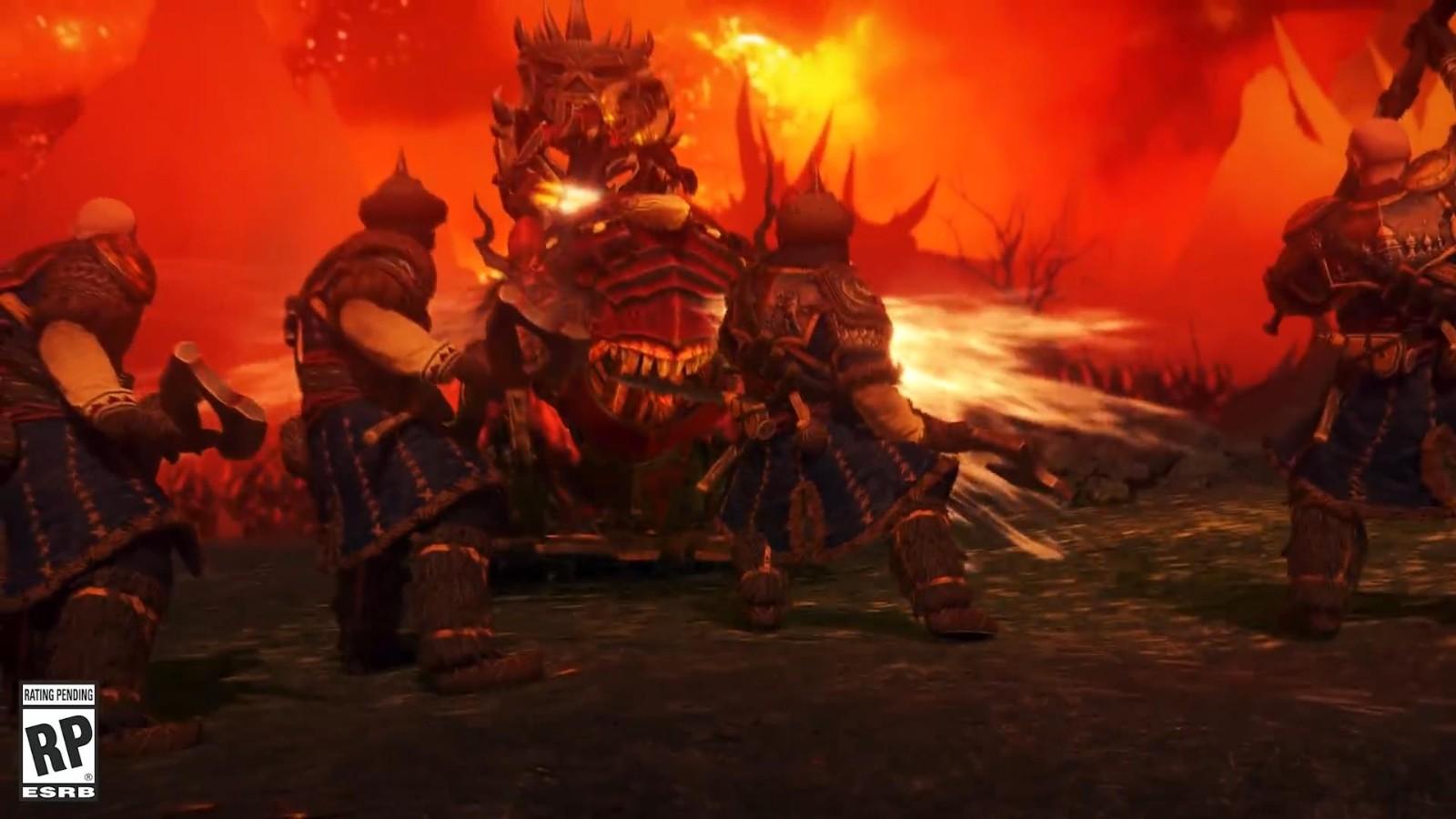 《全面战争:战锤3》新预告 血肉猎犬和鲜血王座登场