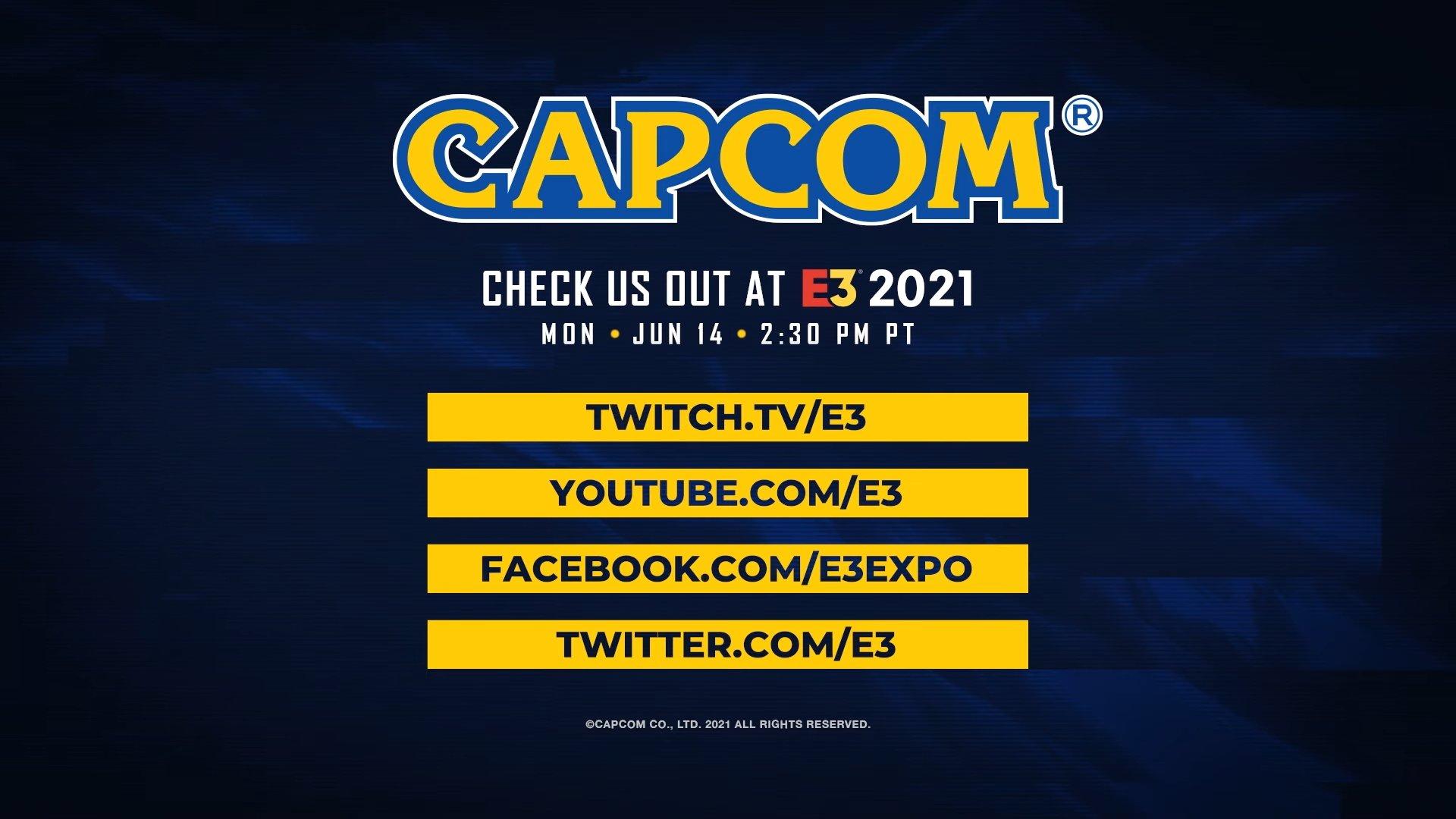 Capcom E3 2021发布会6月15日 《生化8》将参加