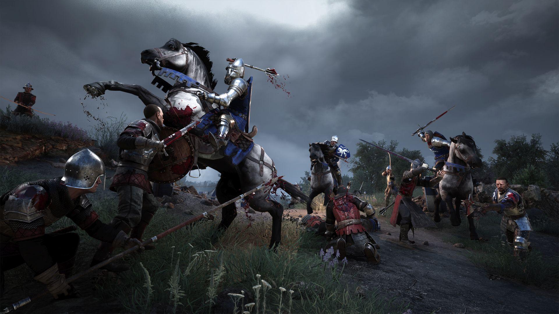 中世纪《骑士精神2》正式解锁 支持跨平台联机