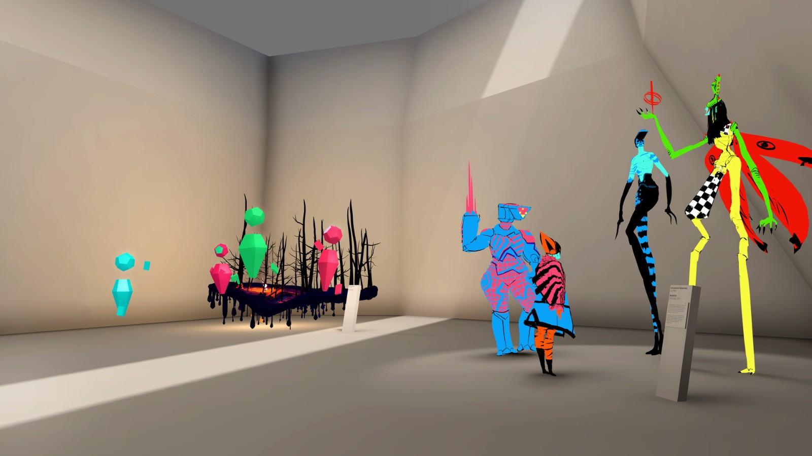 Steam喜加一 VR艺术展览《奇妙现实博物馆》免费领