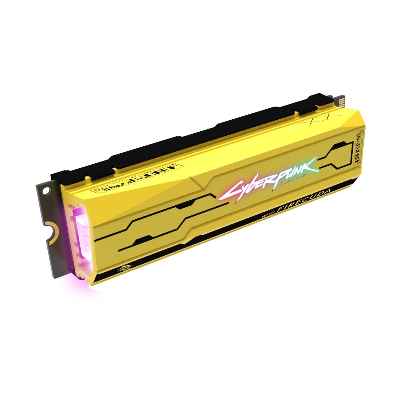 希捷《赛博朋克2077》限定版SSD亮相 售价约1542元