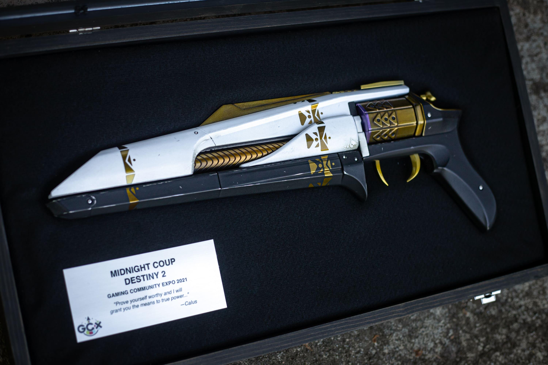 GCX 2021慈善抽奖最新奖品为《命运2》官方手炮模型