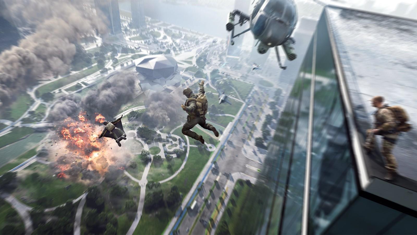 《战地2042》首批官方截图和封面视觉图泄露