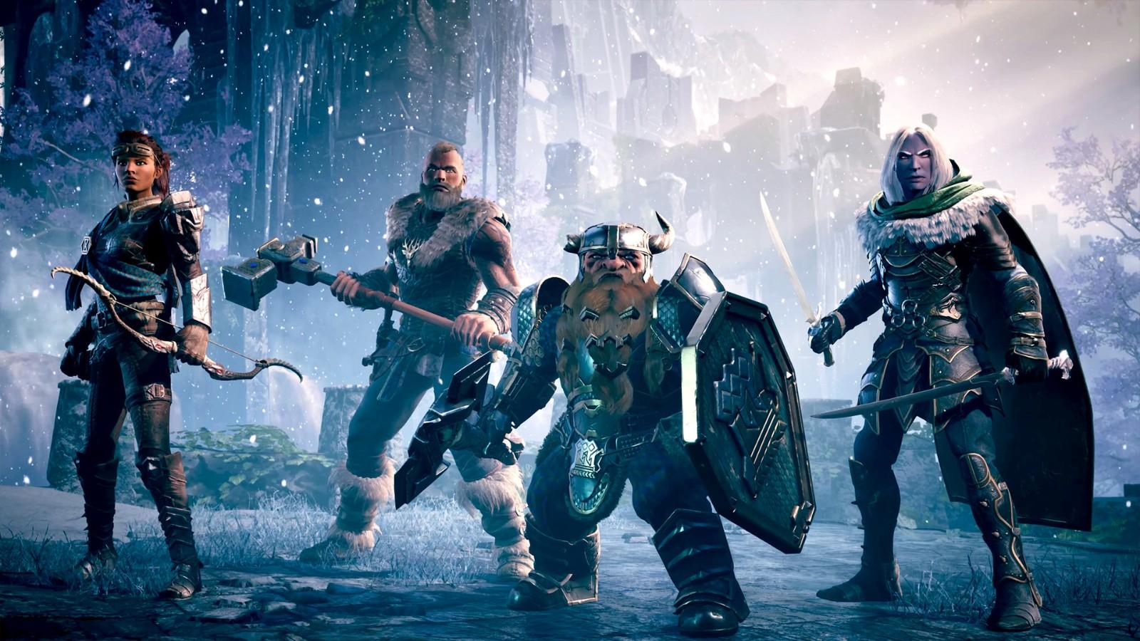 《龙与地下城:黑暗联盟》新预告 勇斗怪兽探索冰风谷