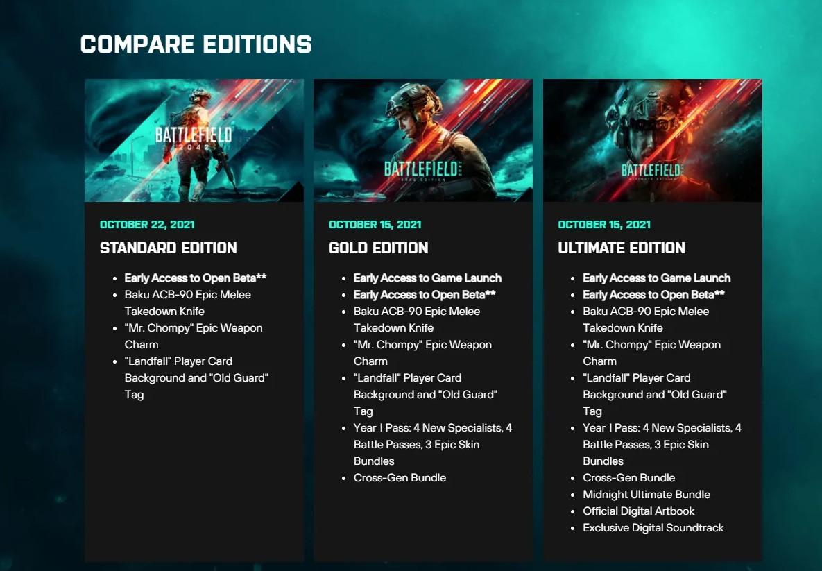 《战地2042》港服开启预购 PS5标准版比PS4版贵66元