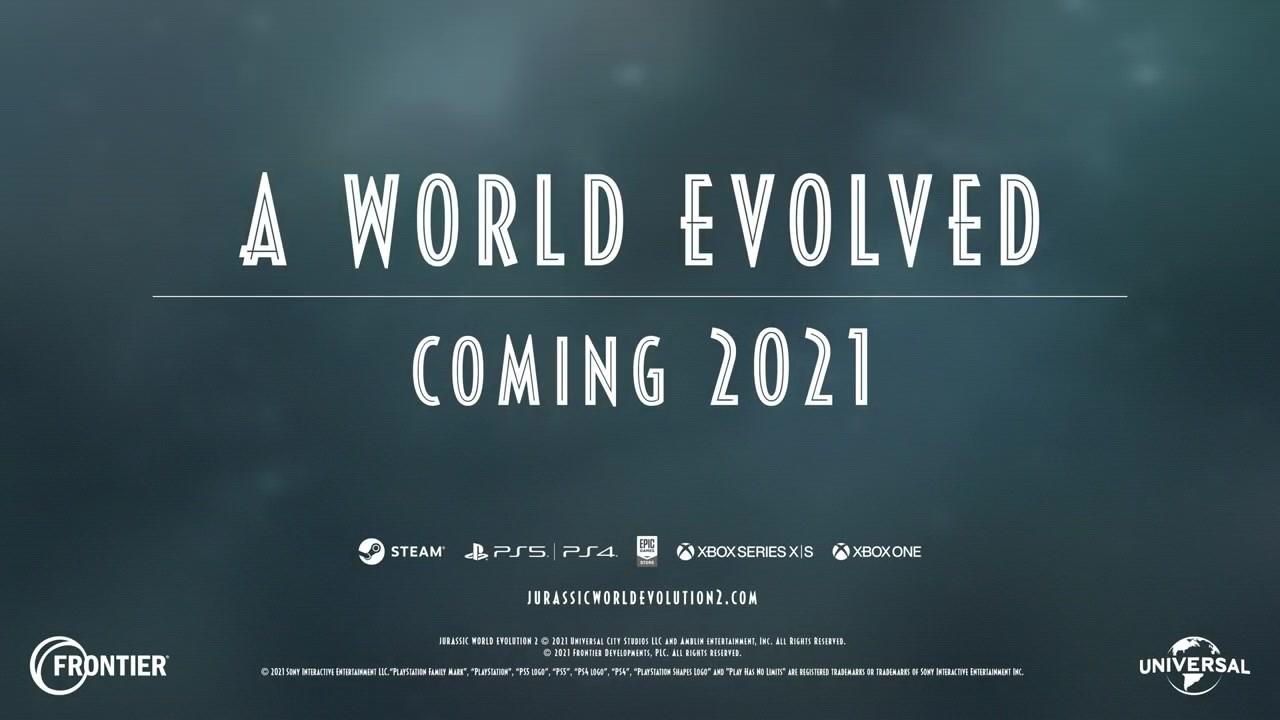 E3 2021:《侏罗纪制服丝袜人妻日韩在线无码:进化2》公布 2021年推出