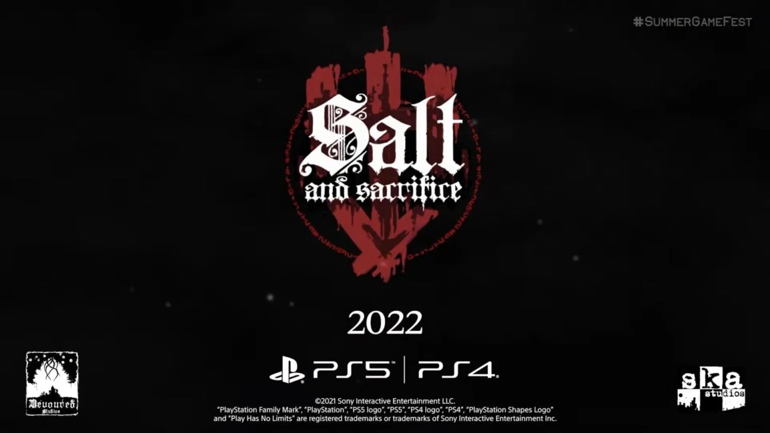 E3 2021:盐与避难所续作《盐与献祭》公布
