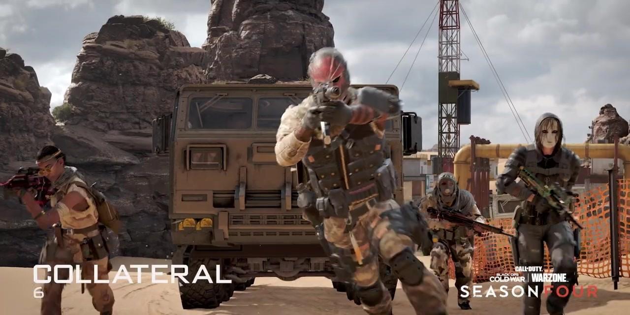 E3 2021:《CoD17》及战区第四季实机预告片